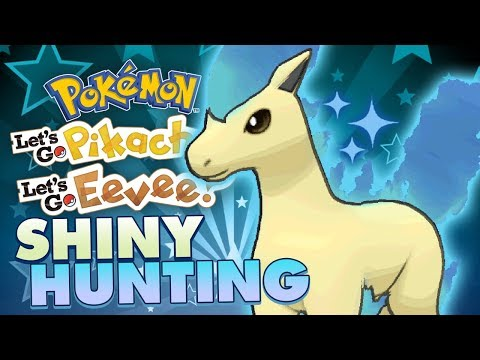 LIVE SHINY PONYTA HUNTING! Pokemon Lets Go Pikachu & Eevee Shiny Race w/ Patterrz thumbnail
