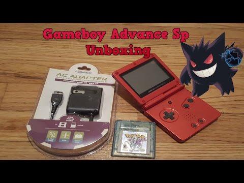 Gameboy Advance SP Unboxing