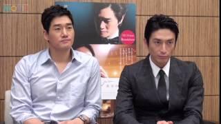 ユ・ジテ&伊勢谷友介、日韓で世代もキャリアも同じ道を進む2人が、初共...