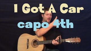 I Got A Car (George Strait) Easy Guitar Lesson How to Play Tutorial