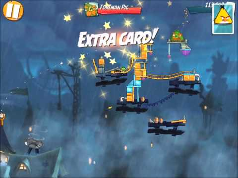 Angry Birds 2 - Level 30 Boss Fight - Foreman PIG Push!!!