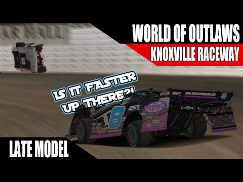 iRacing World of Outlaws Late Model Series W10 @ Knoxville Raceway R2