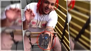 Rapper Nessly ADMITS His Autotune Implants Are FAKE!