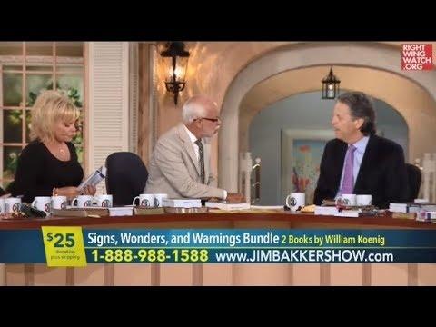 RWW News: Jim Bakker Claims Hurricane Harvey Was God's Response To Middle East Peace Talks