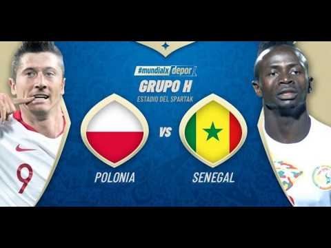 Polonia(Poland) Vs Senegal FIFA WC 2018