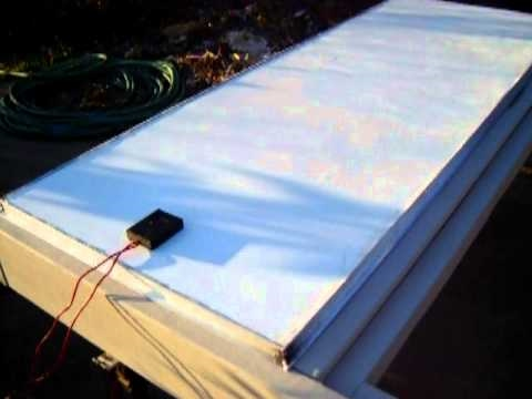 DIY Aluminum Frame Solar Panels And Charge Controler pt 4