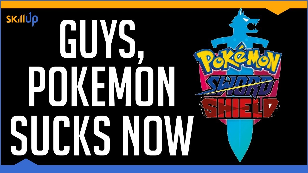 Pokemon is Nintendo's Most Stagnant and Lazy Franchise (Pokemon Sword and Shield Review) (Video Game Video Review)