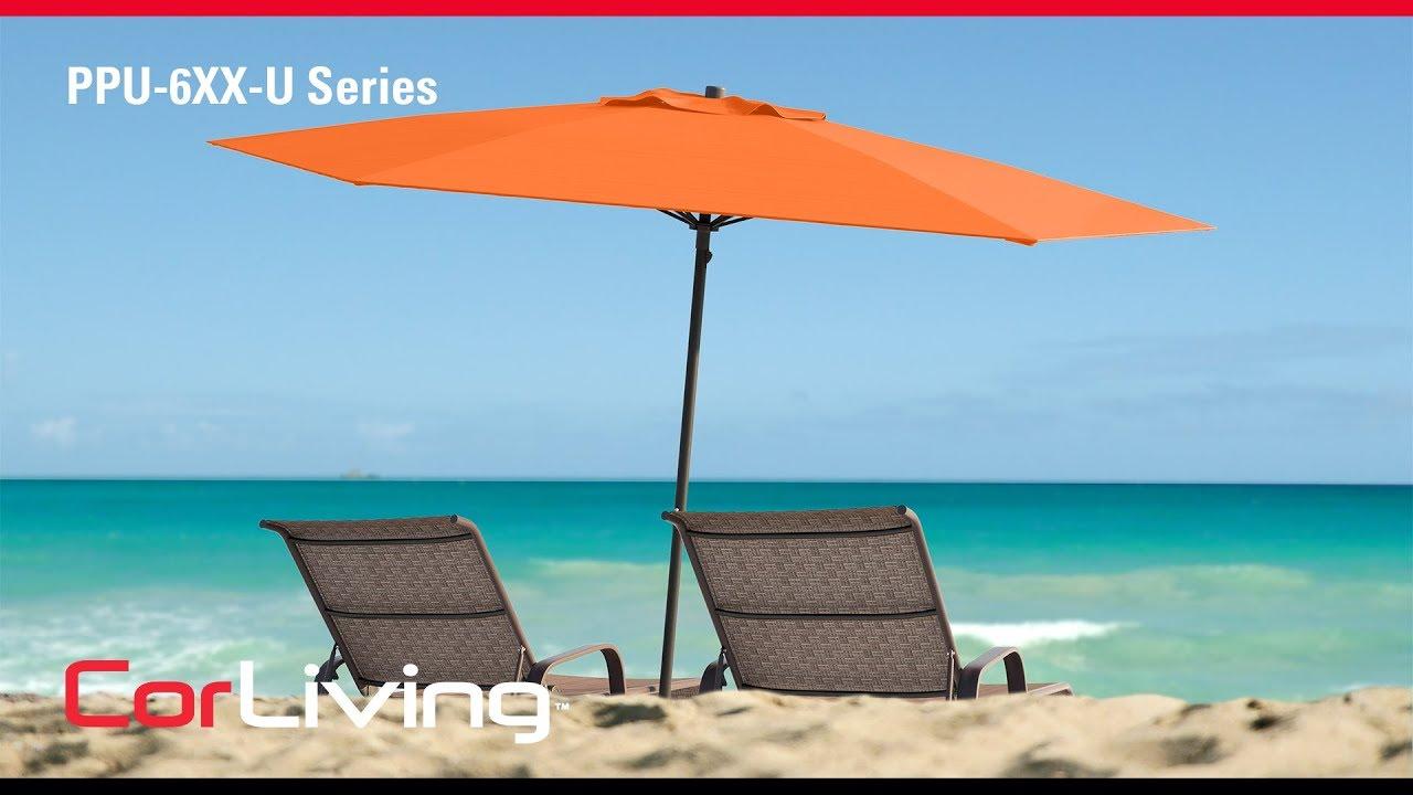 UV And Wind Resistant Beach/Patio Umbrella | Corliving