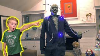 Experimental Eddie Spirit Halloween Animatronic Unboxing!