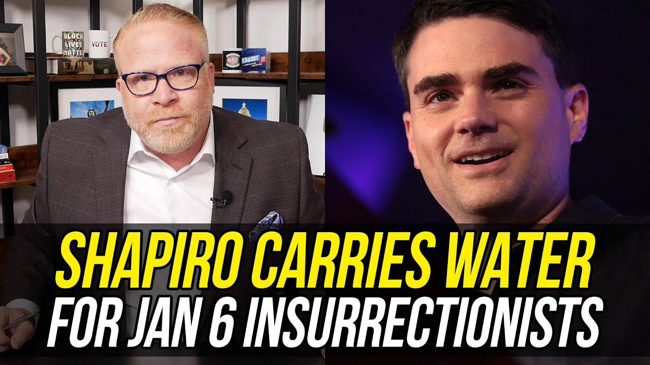 Ben Shapiro Ties Himself in Knots Playing Down Capitol Insurrection!