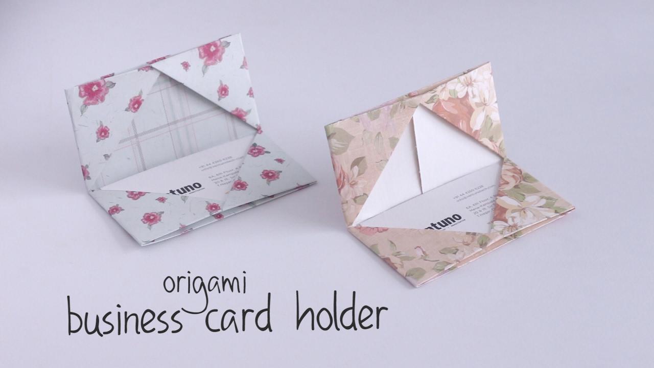 Diy Business Card Holder You