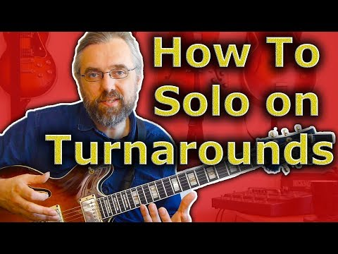 Jazz Turnaround - How To Get Started