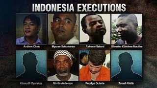 indonesia bali nine firing squad execution video thoughts