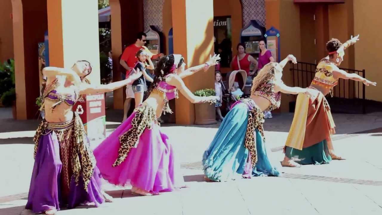 Busch Garden Belly Dancers Youtube
