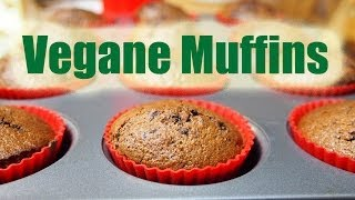 Vegane Muffins - Fettarm und super lecker! [VEGAN]