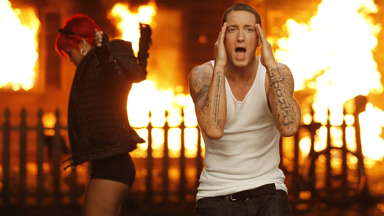 Eminem ft. Rihanna - The Monster Lyrics