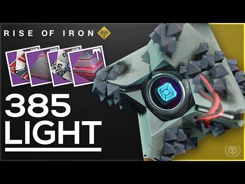 Destiny Rise of Iron: How to get 385 Light Ghosts & Artifacts!