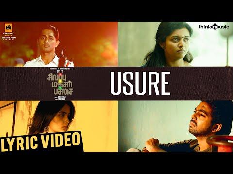 sivappu-manjal-pachai-|-usure-song-lyric-video-|-siddharth,-g.v.prakash-kumar-|-sasi-|-siddhu-kumar