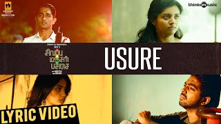 Cover images Sivappu Manjal Pachai | Usure Song Lyric Video | Siddharth, G.V.Prakash Kumar | Sasi | Siddhu Kumar