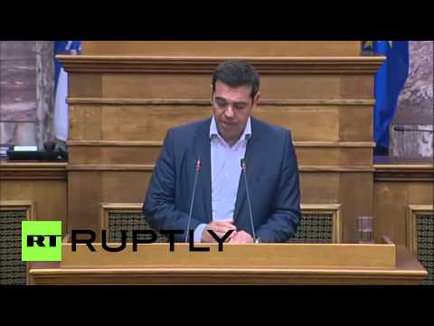 Greece: IMF bears 'criminal responsibility' for Greece's situation says Tsipras