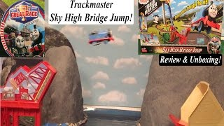Thomas and Friends Great Race Sky High Bridge Jump Trackmaster Set Review & Unboxing!