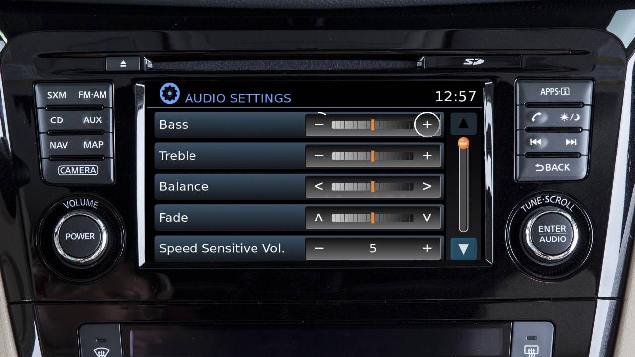 2017 Nissan Rogue - Control Panel and Touch Screen Overview (if so equipped)