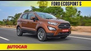 Ford EcoSport S EcoBoost petrol | First Drive Review | Autocar India