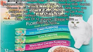 Purina Fancy Feast Wet Cat Food, Elegant Medleys, Florentine Collection, 3-Ounce Can, Pack Of 12