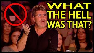"""Top 3 """"SIMON STOPS THEM Acts"""" ... Watch What Happens Next!"""
