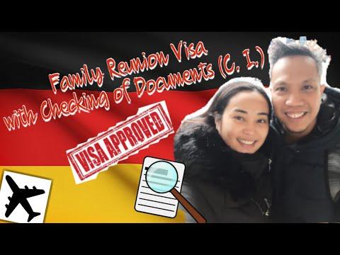 Family Reunion Visa with C.I or Checking of Documents #TeamDelloro #FRV #FamilyReunionVisa