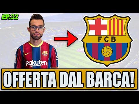 OFFERTA DAL BARCELLONA!! NON CI CREDO!! IL SOGNO DELLA MIA VITA!! FIFA 21 CARRIERA GIOCATORE #32