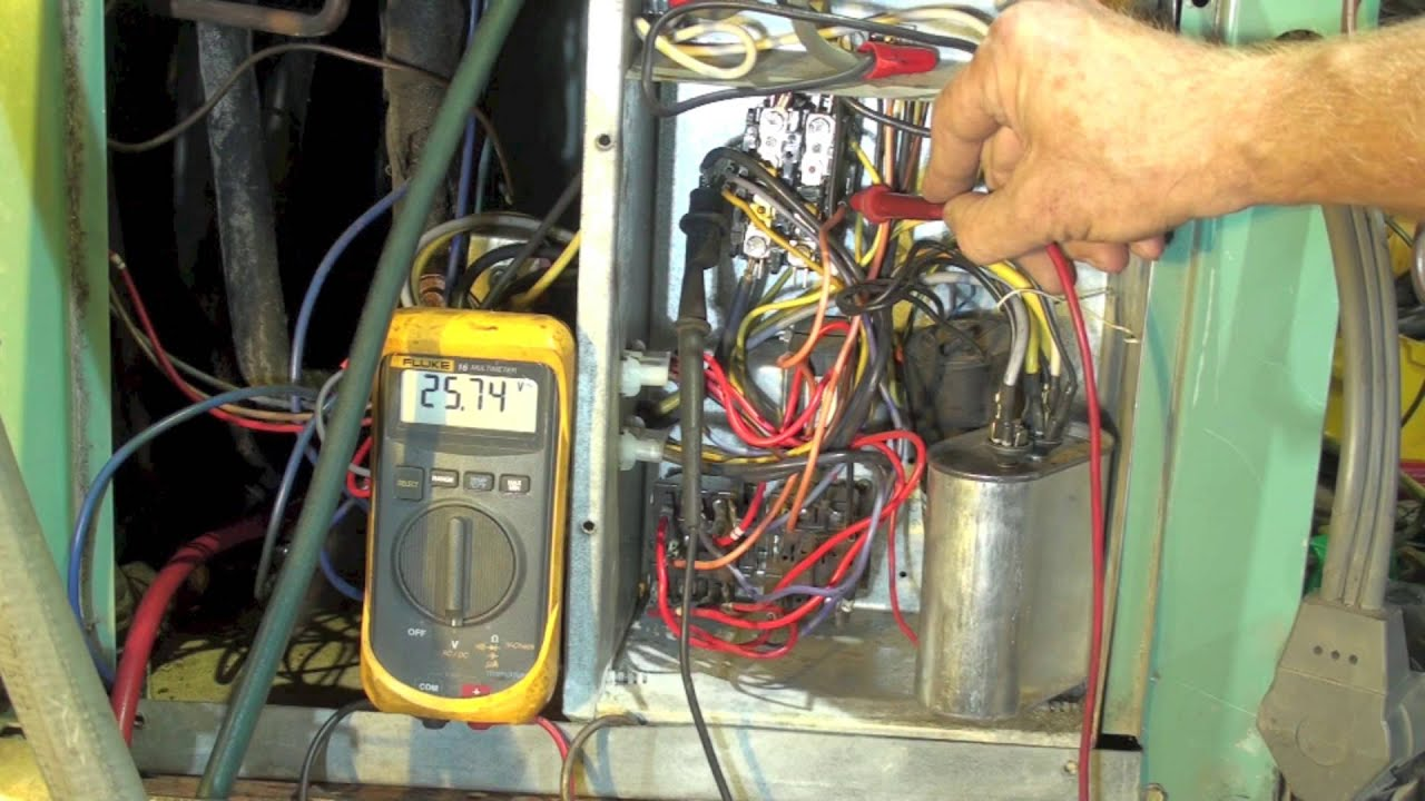 Electrical Diagnosis Of A Water Source Heat Pump