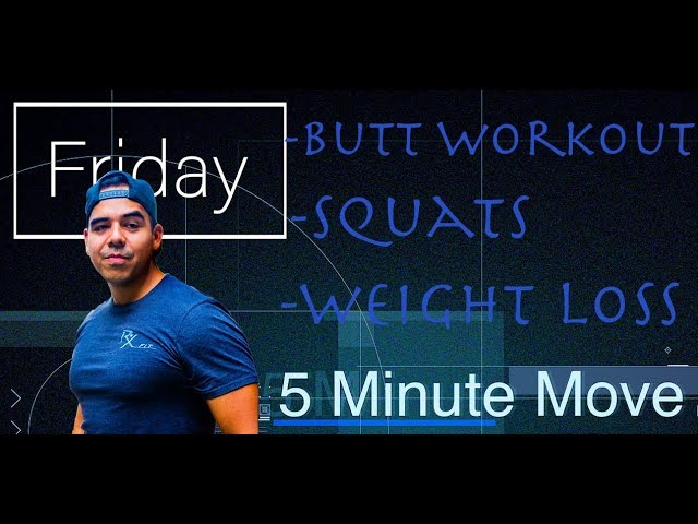Squats/Butt - Kettlebell - 5 Minute Move - Friday