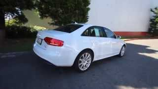 2012 Audi A4 2.0T Premium Plus Quattro | White | STK018756 | Redmond | Seattle