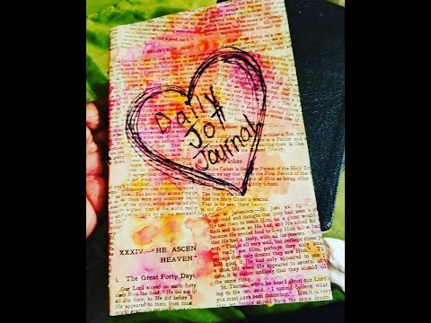 DIY Daily Quick Jot Journal: Handmade Journal With Common Household Supplies