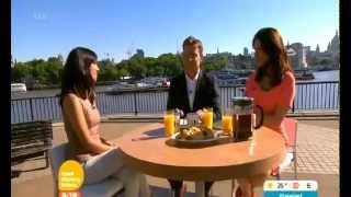 Susanna and Ben interview  Fiona Wade ~Good Morning Britain 3/7/14  3 7 12