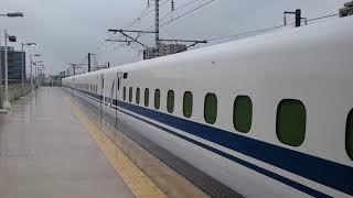 N700A  G37編成  出場試運転上り  三河安城駅発車