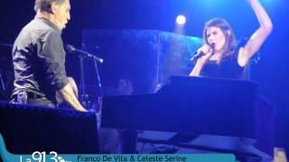 Franco De Vita & Celeste Serine | Tan solo tu  |  La 91.3 fm