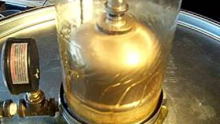 See Thru oil  Centrifuge filtering wvo by www.pabiodieselsupply.com