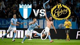 Malmö FF - IF Elfsborg (1-0) Allsvenskan Highlights 2016 (HD)