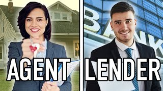 Should you hire a Real Estate Agent or Mortgage Lender first when buying a home?