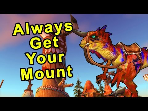 How To Always Get Your Mount At Level 40 - Classic WoW Guide