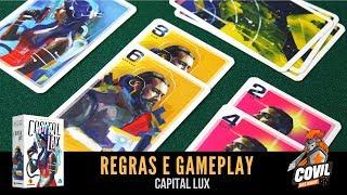 Covil dos Jogos - Regras e Gameplay Capital Lux