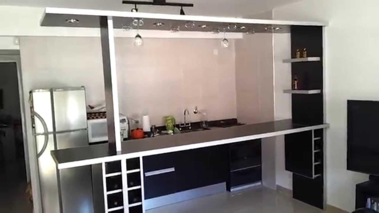 Separador de ambientes desayunador copero remodelamos tu - Barras para cocinas ...