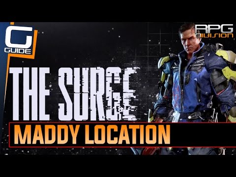 The Surge - Maddy Location (Alec Norris Side Quest)