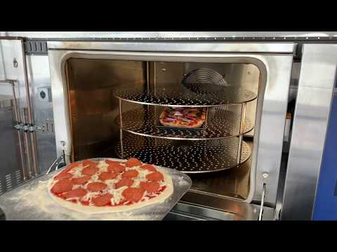 Doyon Trio Ventless Oven: Pepperoni Pizza