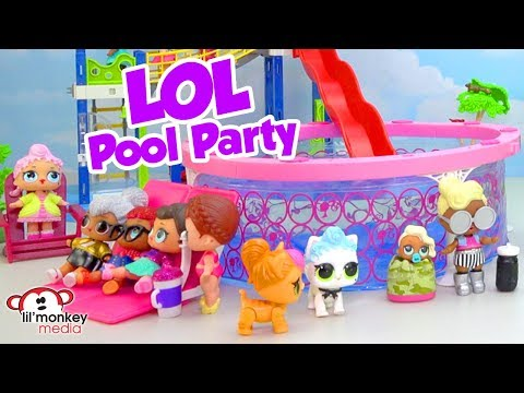 🎉  LOL Pool Party!!