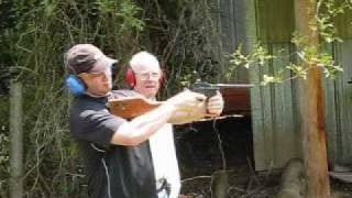 Shooting the Astra 902 Machine Pistol
