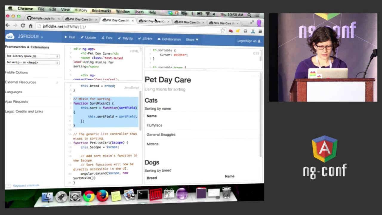 Writing a Massive Angular App at Google NG Conf - YouTube