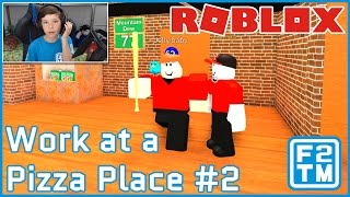 GUYS I GOT A NEW JOB!!! Roblox Work at a Pizza Place